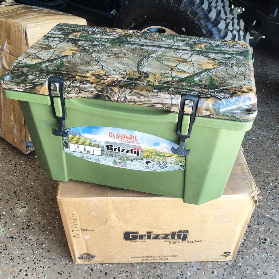 Trail Reaper - Grizzly Cooler