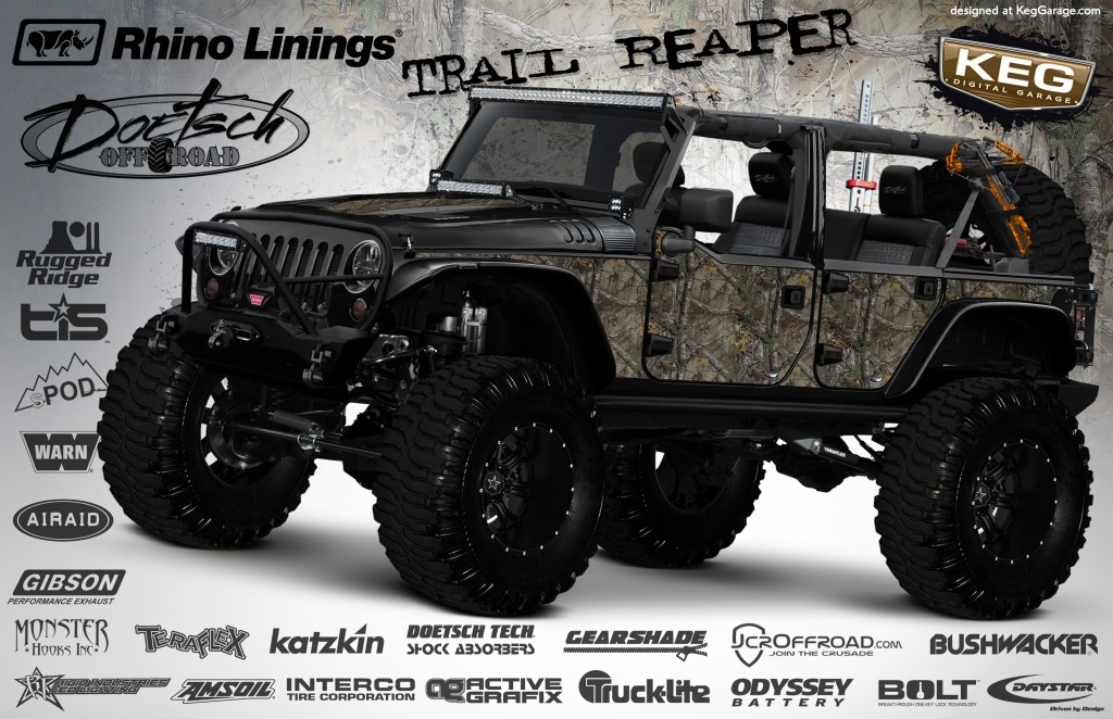 Rhino Linings Trail Reaper Jeep